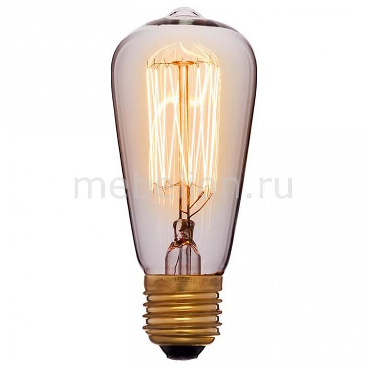 Лампа накаливания Sun Lumen ST48 E27 240В 40Вт 2200K 051-897