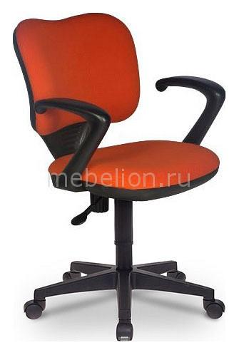 Кресло компьютерное Бюрократ Бюрократ CH-540AXSN-Low оранжевое бюрократ кресло бюрократ ch 540axsn low 26 21 низкая спинка синий 26 21
