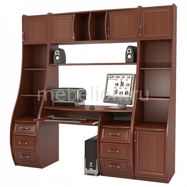 ТД Ная Стол компьютерный Беркут КС-1К+Триумф СФ-403Д+Триумф СФ-433Д яблоня локарно