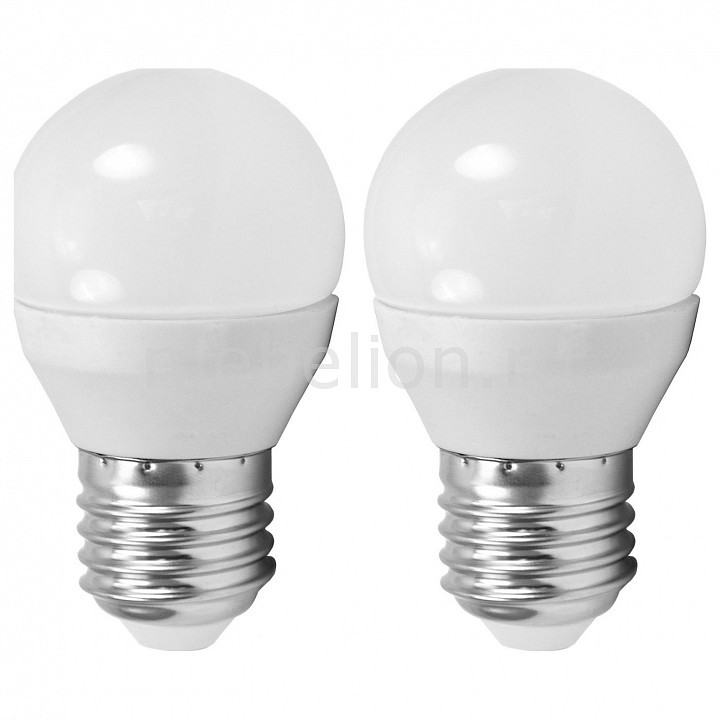 Комплект из 2 ламп светодиодных [поставляется по 10 штук] Eglo Комплект из 2 ламп светодиодных Valuepack E27 4000K 220-240В 4Вт 10778 [поставляется по 10 штук] комплект из 2 ламп светодиодных eglo led лампы g4 2700k 220 240в 1 2вт 11551