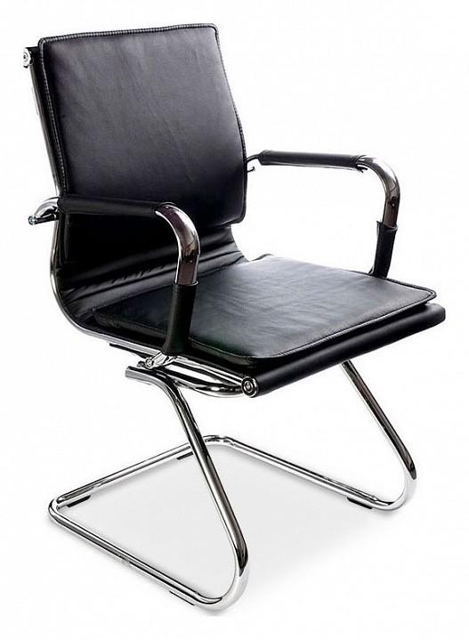 Стул Бюрократ Бюрократ CH-993-low-v кресло бюрократ ch 993 low v на полозьях искусственная кожа серый [ch 993 low v grey]