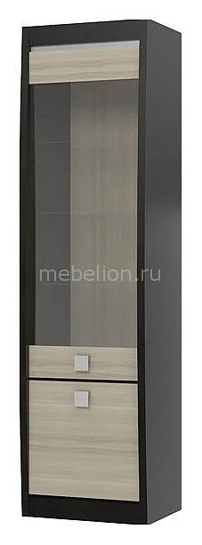 Шкаф-витрина Ксено СТЛ.078.04 дуб феррара/ясень глянец