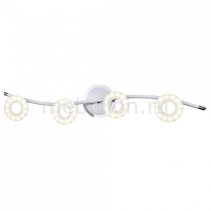 Спот IDLamp ы 390 390/4PF-LEDWhitechrome