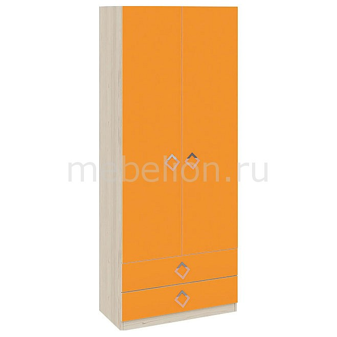 Шкаф платяной Аватар СМ-201.14.001 каттхилт/манго mebelion.ru 10990.000