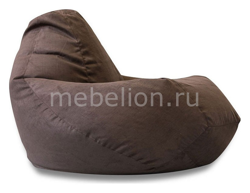 Кресло-мешок Dreambag Коричневая замша II пуф dreambag модерна коричневая кожа