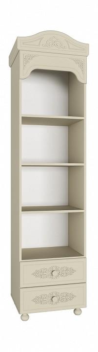 Стеллаж комбинированный Компасс-мебель Ассоль плюс АС-43 алмаз мебель комод пеленальный алмаз мебель зоопарк кп 2 мдф 4 ящика орех ваниль