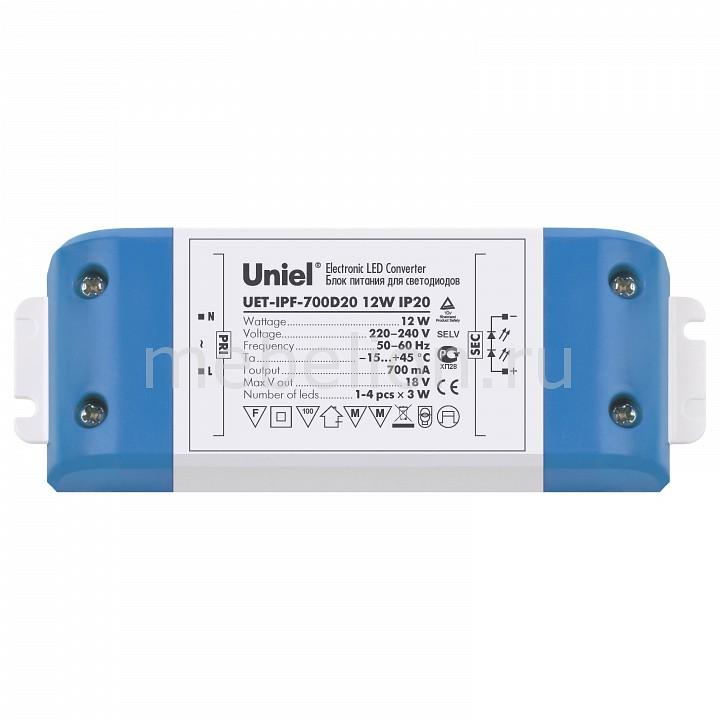 Фото - Блок питания Uniel UET-IPF-700D20 05835 блок питания для светодиодов uniel 10590 150w 6 25ма ip67 uet vaj 150b67