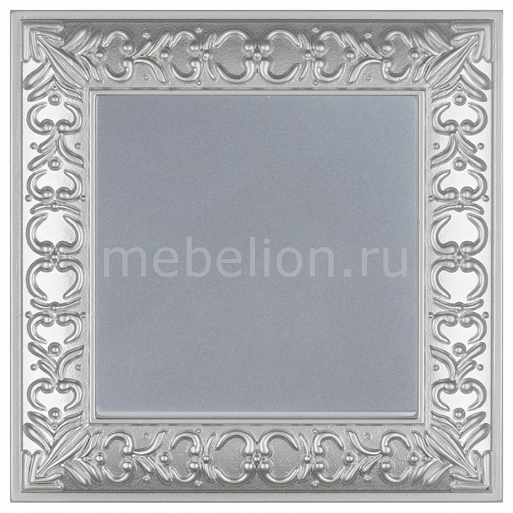 Выключатель проходной одноклавишный Werkel Antik (Серебряный) WL06-SW-1G-2W-LED+WL06-SW-1G-2W цена и фото