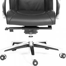 Кресло для руководителя Chairman Fuga черный/хром, черный