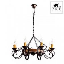 Подвесная люстра Arte Lamp A9520LM-8BR Taverna