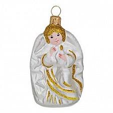 Елочная игрушка (8 см) Ангелочек-4 860-453