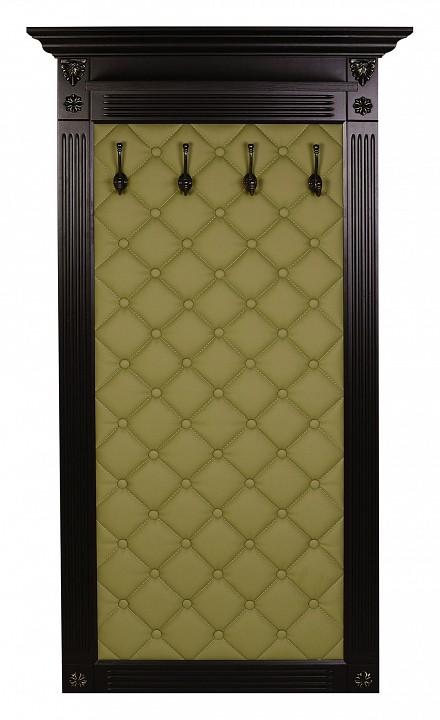 Вешалка настенная Мебелик Сильвия Н3 вешалка в прихожую мебелик сильвия н3 эко кожа молочный белый ясень