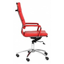 Кресло компьютерное Chairman 750 красный/хром