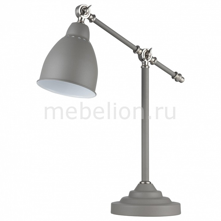 Настольная лампа офисная Maytoni Domino MOD142-TL-01-GR настольная лампа maytoni domino mod142 tl 01 n