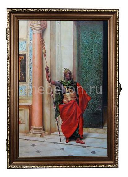 Ключница Акита (24х34 см) Воин 312-43