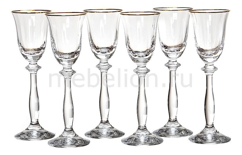 Набор бокалов АРТИ-М Набор из 6 бокалов Анжела оптик 674-035 набор бокалов арти м набор из 6 бокалов виола микс 674 320