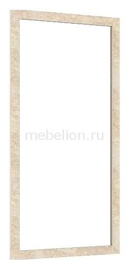 Зеркало настенное 125.140 Александрия кожа ленто  синяя тумбочка