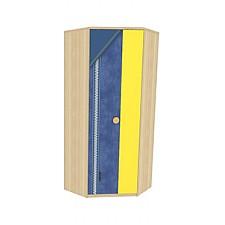 Шкаф платяной Джинс 507.160 сантана/джинс/желтый бриллиант