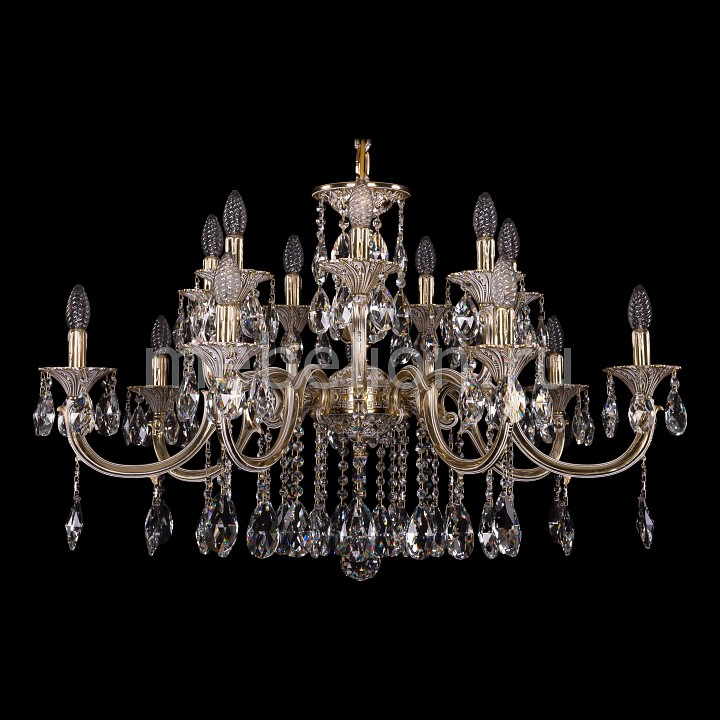 Подвесная люстра Bohemia Ivele Crystal 1702/7+7/335+150/A/GW 1702