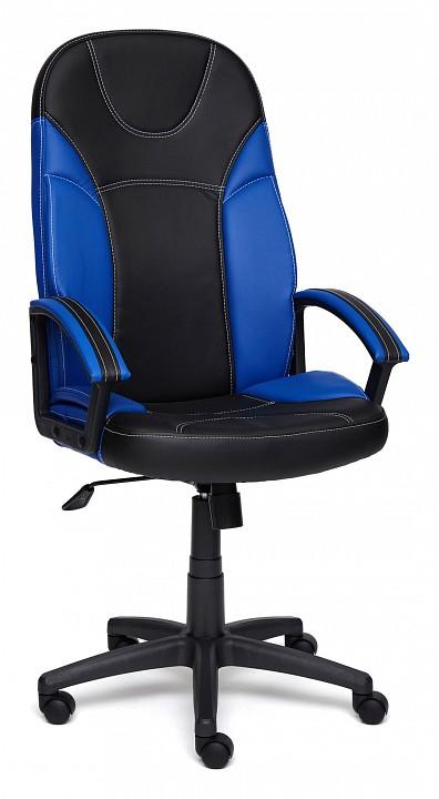 Кресло компьютерное Tetchair Twister черный/синий