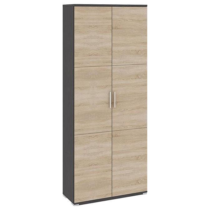 Шкаф платяной ТриЯ Успех-2 ПМ-184.18 мебель трия надстройка для стола успех 2 пм 184 10 венге цаво дуб сонома
