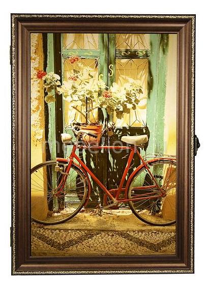 Ключница Акита (24х34 см) Велосипед 312-41