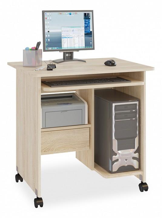Стол компьютерный Сокол КСТ-10.1 стол компьютерный сокол кст 104 1 испанский орех правый