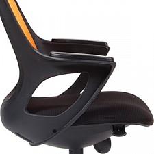 Кресло компьютерное Chairman 820 оранжевый/черный