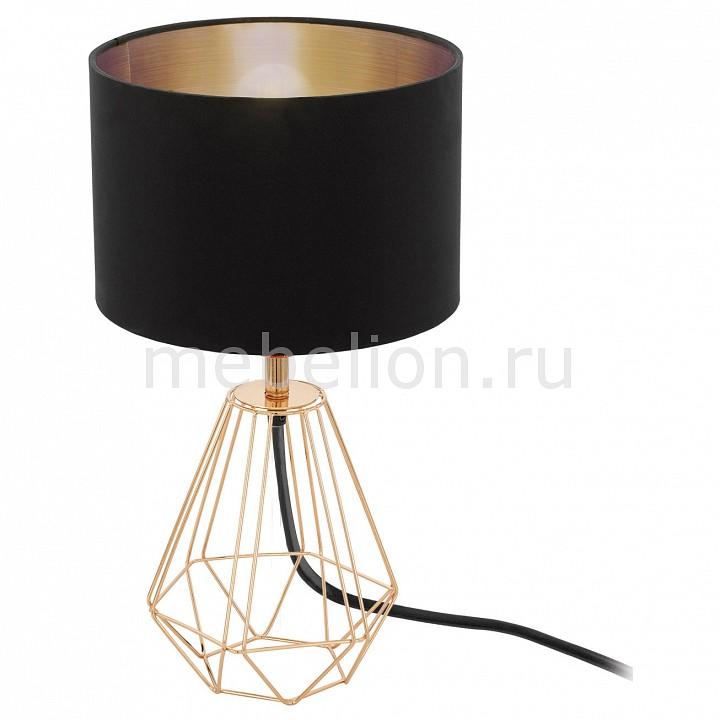 Настольная лампа декоративная Eglo Carlton 2 95787 настольная лампа декоративная eglo carlton 2 95787
