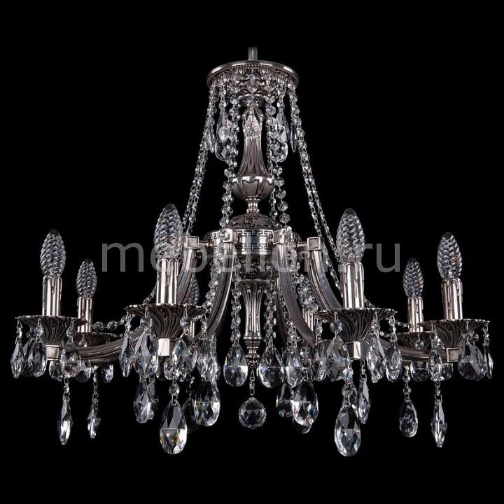 Подвесная люстра Bohemia Ivele Crystal 1771/8/220/A/NB 1771