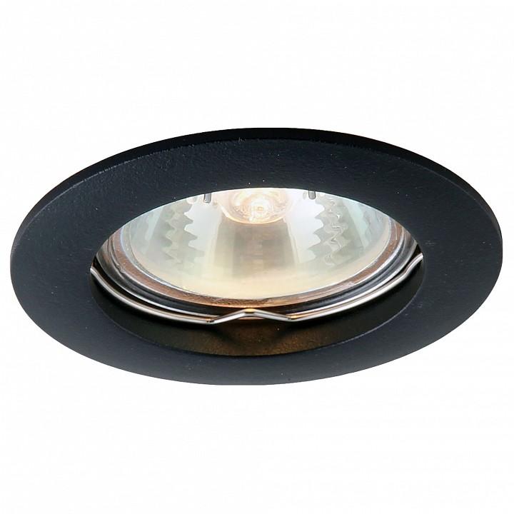 Встраиваемый светильник Arte Lamp Basic A2103PL-1BK все цены