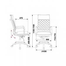 Кресло компьютерное Бюрократ CH-991/BLACK черный