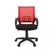 Кресло компьютерное Chairman 696 красный/черный