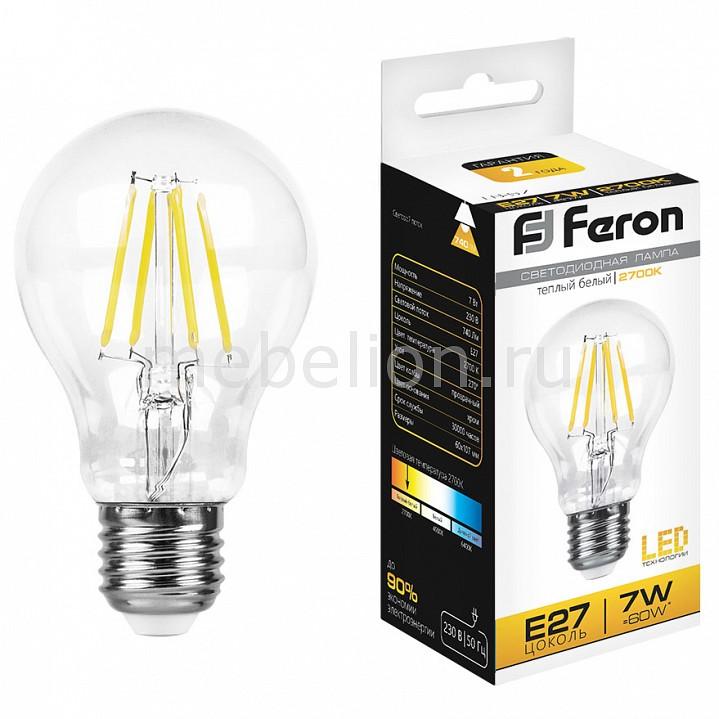 Лампа светодиодная Feron LB-57 E27 7Вт 220В 2700 K 25569 лампа светодиодная gauss none gu5 3 7вт 220в 2700 k 101505107