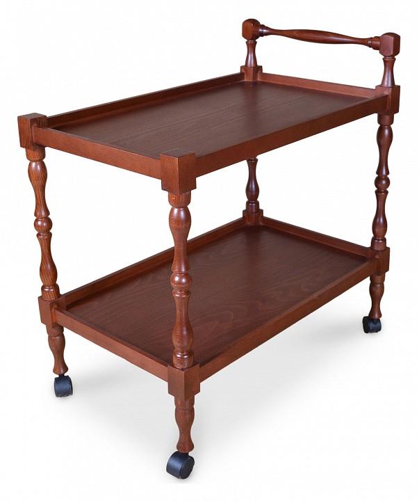 Стол сервировочный Мебелик Сервировочный стол Бридж сервировочный столик мебелик стол сервировочный бридж средне коричневый