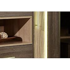 Шкаф для белья Бруна 629.020 сономе эйч