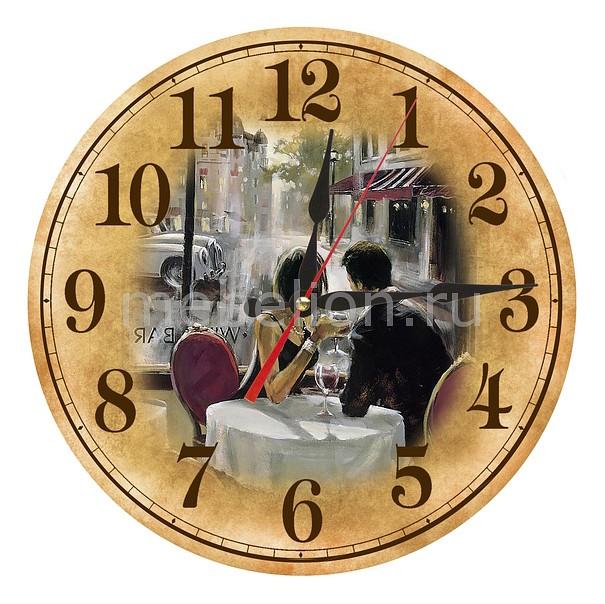 Часы настенные Акита (30 см) Парижское кафе AC11 akita