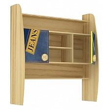 Надстройка для стола Любимый Дом Джинс 507.120 сантана/джинс/желтый бриллиант
