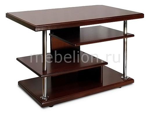 Стол журнальный Мебелик Комфорт-3 средне-коричневый стол журнальный мебелик комфорт 3 орех средне коричневый