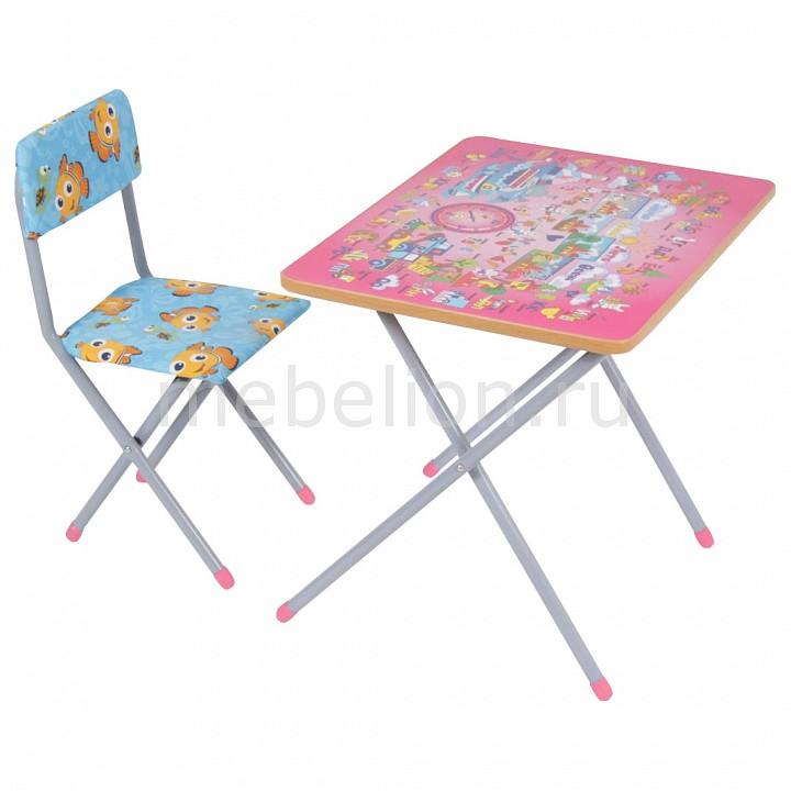 Набор для детской Фея Досуг 201 Алфавит розовый