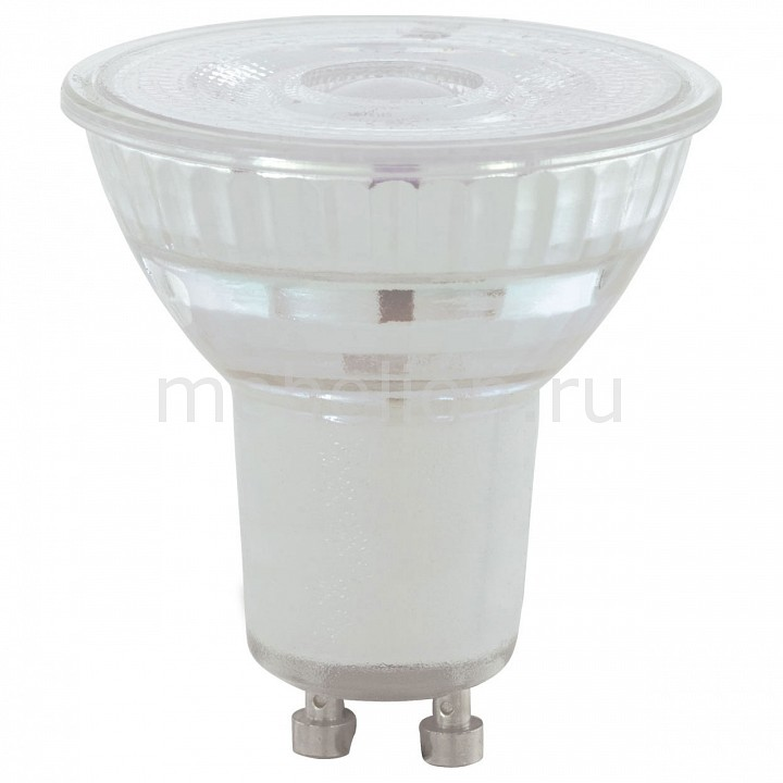 Лампа светодиодная [поставляется по 10 штук] Eglo Лампа светодиодная Led лампы GU10 4000K 220-240В 5,2Вт 11576 [поставляется по 10 штук]