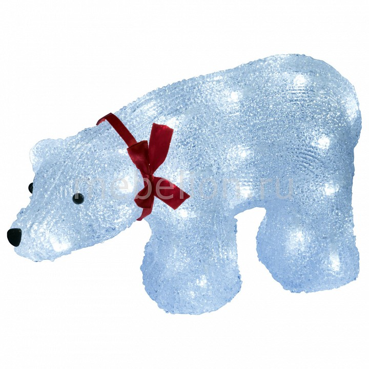 Зверь световой Белый медведь (23 см) Uniel 7954 ULD