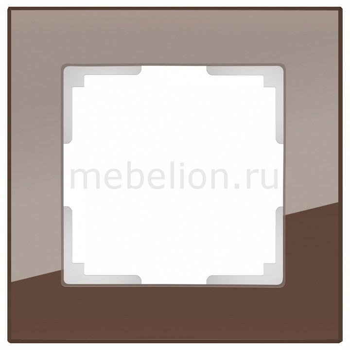 Рамка на 1 пост Werkel Favorit WL01-Frame-01 рамка favorit на 3 поста белый 4690389061226