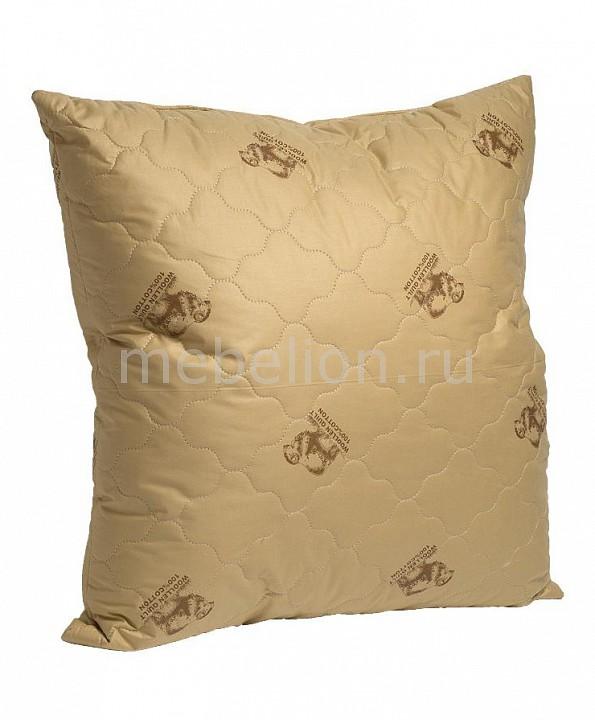 Подушка Лежебока (68х68 см) ОВЕЧКА одеяло евростандарт лежебока овечка