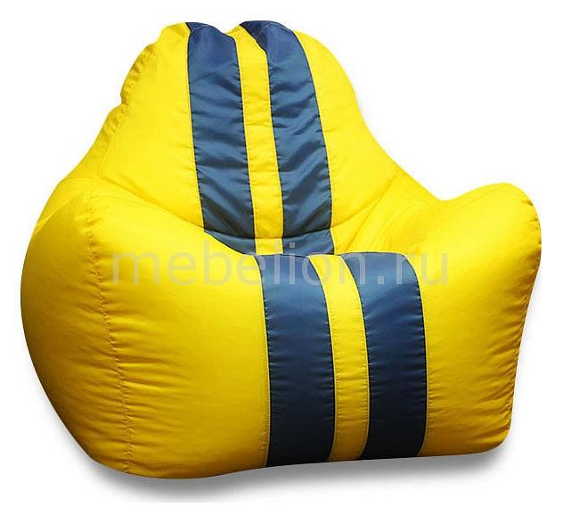 Кресло-мешок Спорт желтое