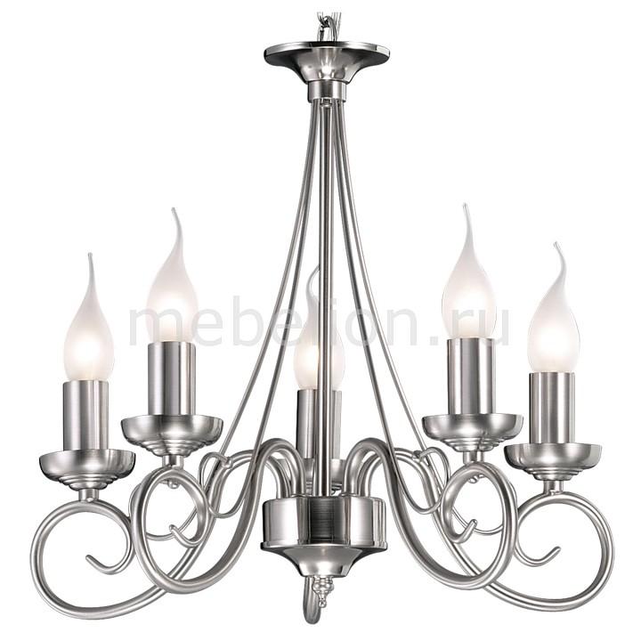 Подвесная люстра Odeon Light Sandia 1425/5  люстра потолочная odeon light 1425 5 odl10 279 матовый никель e14 5 60w 220v sandia