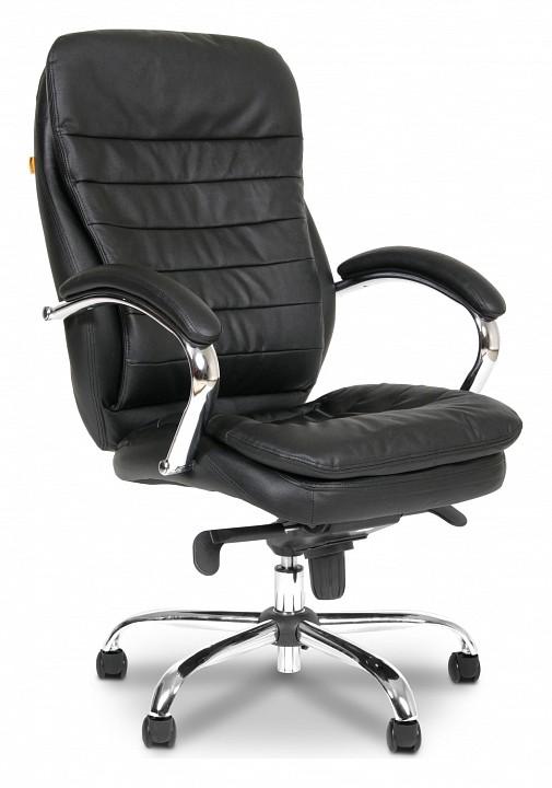 Кресло для руководителя Chairman 795 черный/хром, черный