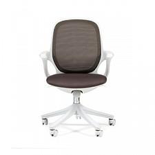 Кресло компьютерное Chairman 820 серый/белый