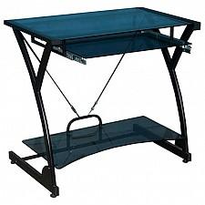 Стол компьютерный Dark Wader WRX-01 прямой тонированное стекло
