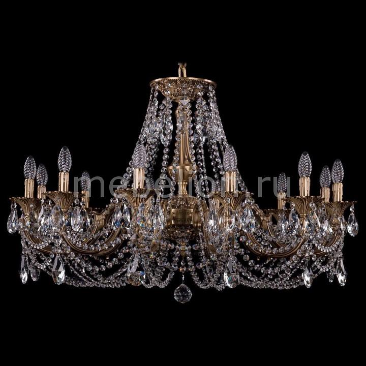 Подвесная люстра Bohemia Ivele Crystal 1702/12/335/C/FP 1702